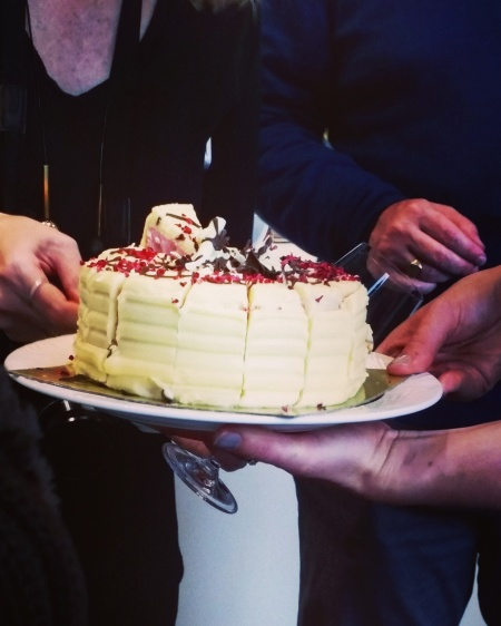 The co-operative's blossom cake