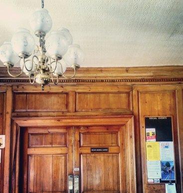 Interior of Labour and Trade Union hub in Croydon, London