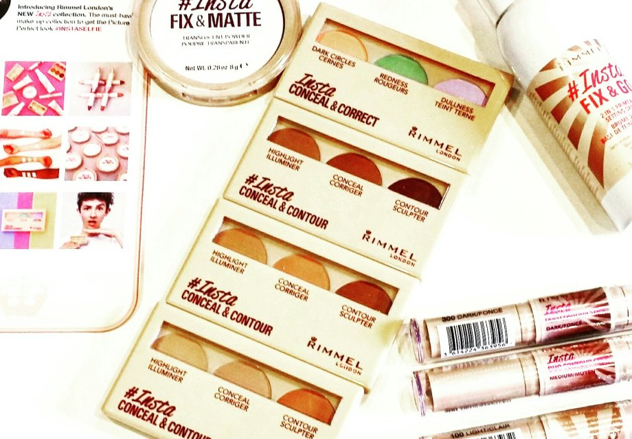 Conceal, correct, contour, highlight and stay matte with this new Rimmel London #Insta collection