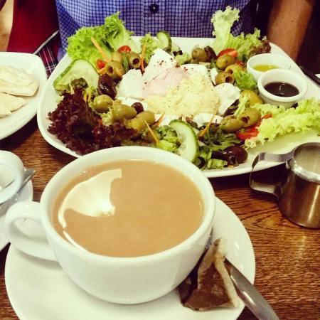 The Greek Feast at Village Bistro Cafe