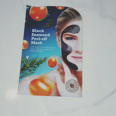 Black seaweed mask superdrug
