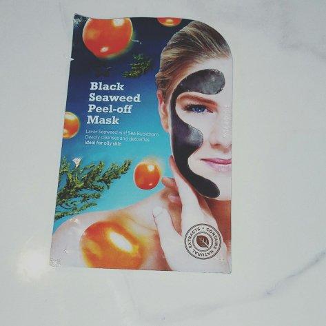 Black seaweed mask superdrug
