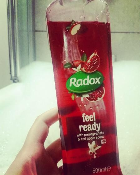 Radox Feel Ready bath soak