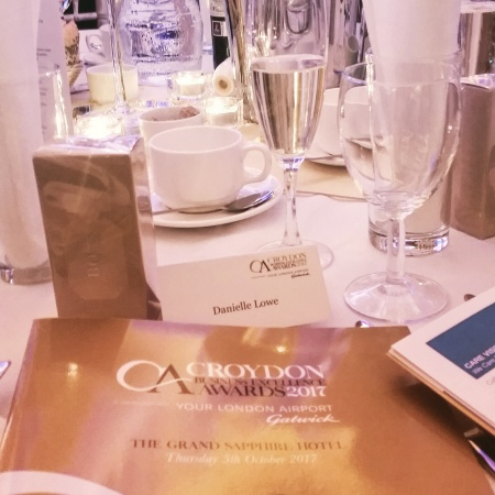 Place settings and awards brochure