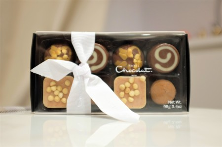 Eight chocolate box in pretty packaging