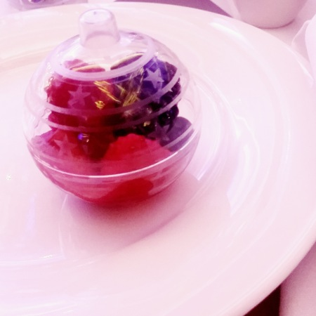 Fruit bauble dessert