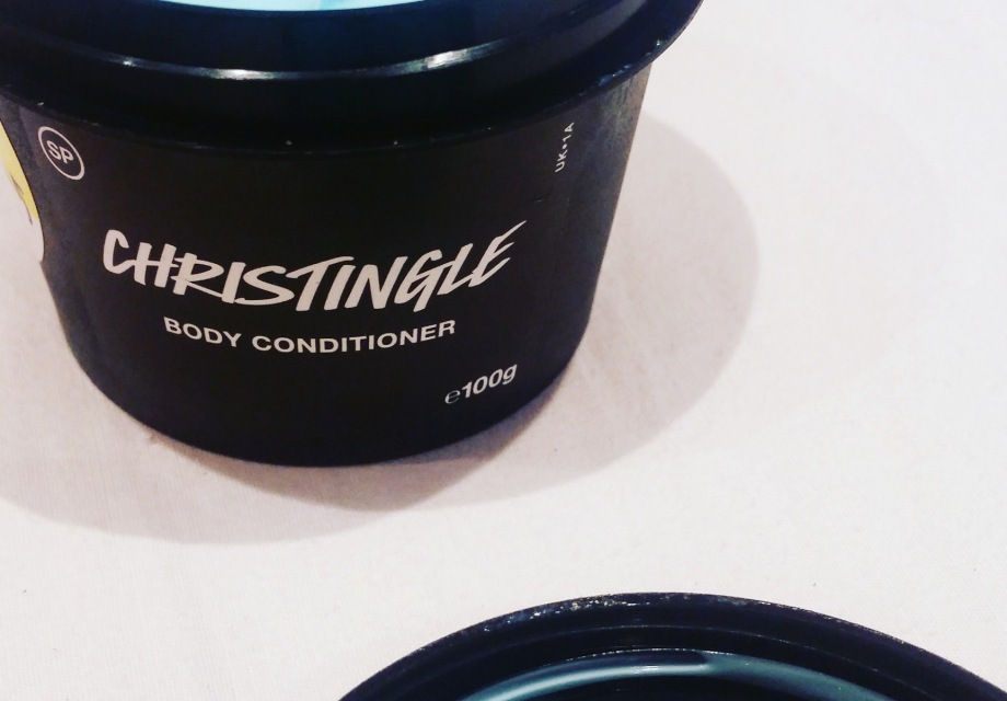 Tub of self-preserving body product by vegan creators Lush