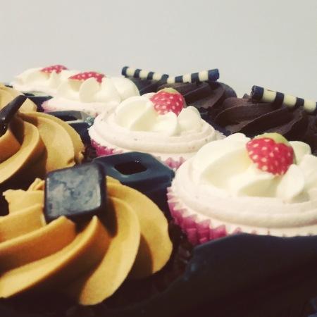Hidden centre cupcakes