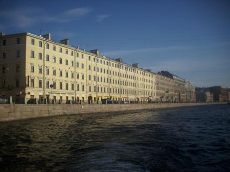 View from a river cruise excursion whilst on a cruise around the Baltics