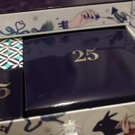 Top drawer of Look Fantastic advent calendar