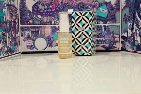 Day seven of Look Fantastic advent calendar gives shimmer gold tan mist by James Read