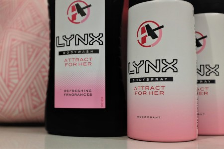Lynx Attract for Her bodywash and spray