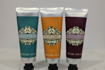 Floral and herb hand creams