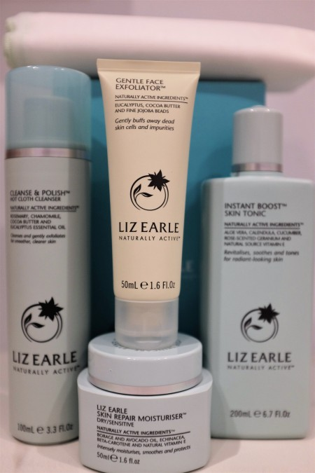Liz Earle skincare products