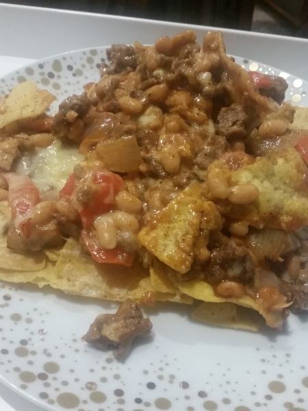Loaded Nacho Mess