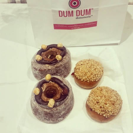 Two big and two little donuts by Dum Dum