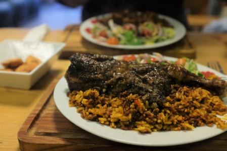 Tuck Inn Caribbean food