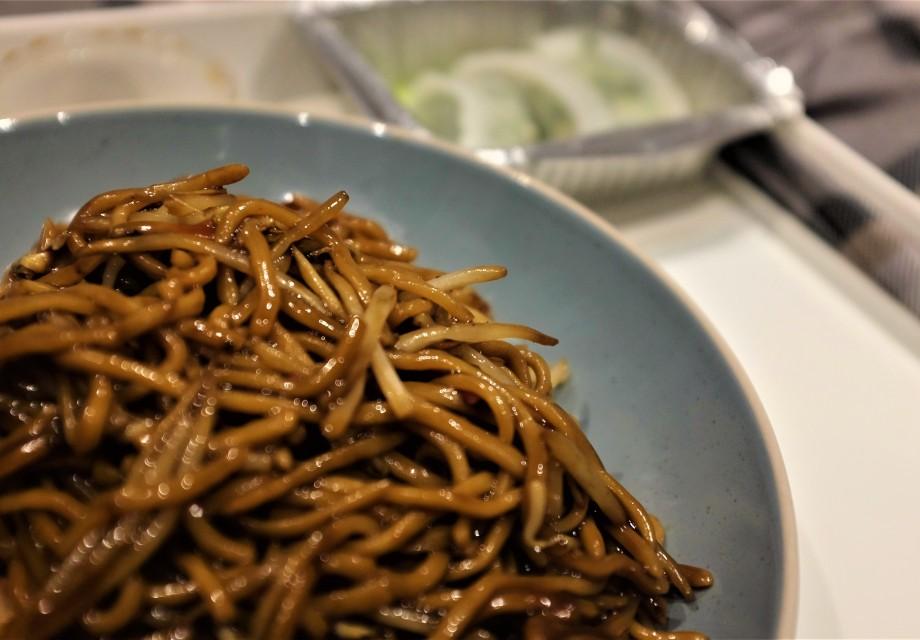 Wet Miso noodles