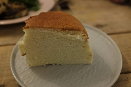 Japanese cheesecake from Crushed Bean