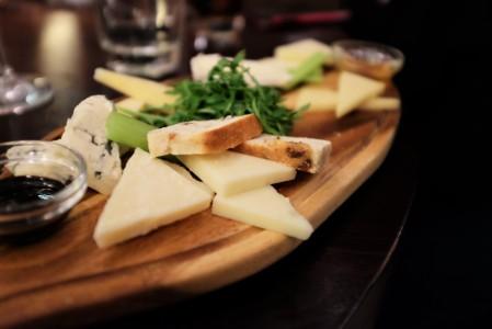 Ponte Nuovo's cheese board