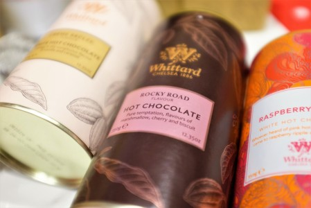 Whittard of Chelsea hot chocolate flavours