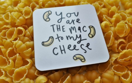 Mac n cheese coaster