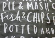 Food based tea towel