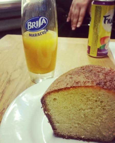 Mango juice and orange cake, Molicero Croydon