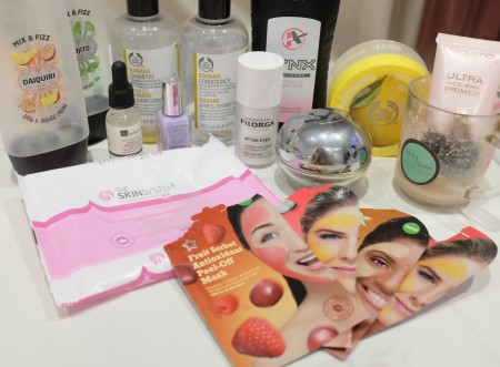 Beauty product empties part one