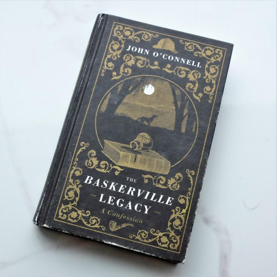 Hardback copy of John O'Connell's book