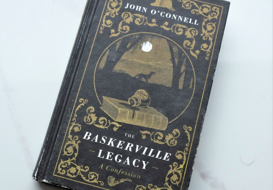 Hardback copy of John O'Connell's book