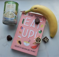 Front cover of hardbook copy of Eat Up!