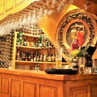 The bar at The Vineyard
