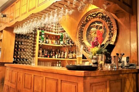 The bar at The Vineyard