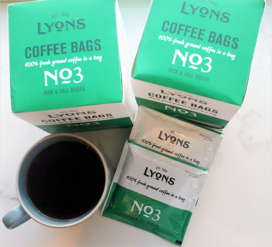 On the go coffee bags